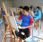 belajar melukis